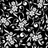 floral άνευ ραφής ανασκόπησης Στοκ εικόνες με δικαίωμα ελεύθερης χρήσης