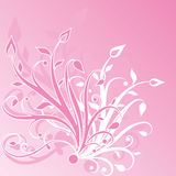 Floral abstract vector illustration