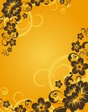 Floral abstract background Stock Photography