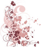 Floral abstract background Royalty Free Stock Images