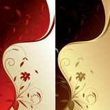 Floral Abstract Background. Illustration of Floral Abstract Background Royalty Free Stock Photo