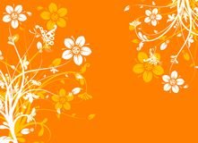 Floral abstract background,  Royalty Free Stock Images