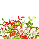 Floral abstract background,. Illustration Stock Photography