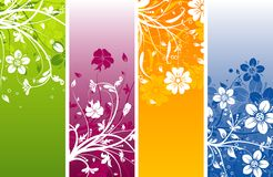Floral abstract background,. Illustration Stock Photos