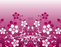 Floral abstract background,. Illustration Royalty Free Stock Image