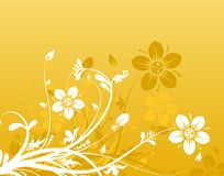 Floral abstract background,. Illustration Royalty Free Stock Images