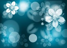 Floral abstract background,  Royalty Free Stock Photography