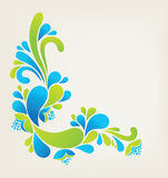 Floral  abstract background Stock Image