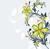Floral abstract background. Stock Images