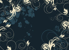 Floral abstract background. Stock Photography