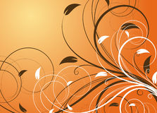Floral abstract background Stock Images