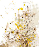 Floral abstract background Royalty Free Stock Photography
