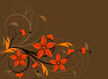 Floral abstract background Royalty Free Stock Photo