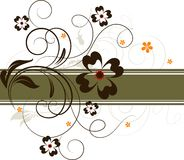 Floral abstract background Stock Photos