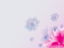 Floral abstract background. Royalty Free Stock Images