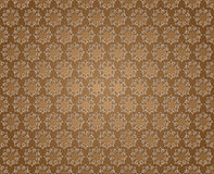 Floral abstract background brown Royalty Free Stock Image