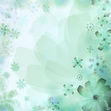 Floral abstract background. Stock Photo