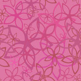 Floral abstract background, seamless. Vector illustration Stock Image