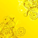 Floral abstract background, vector Royalty Free Stock Photos