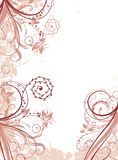 Floral abstract background, vector Royalty Free Stock Image