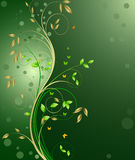 Floral abstract background vector Royalty Free Stock Image