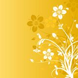 Floral abstract background, vector. Illustration Stock Photography