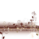 Floral abstract background. Vector. Floral abstract background. With additional vector format Stock Photography