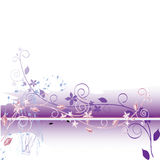 Floral abstract background. Vector. Royalty Free Stock Photography