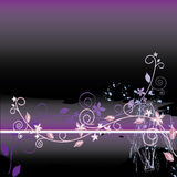 Floral abstract background. Vector. Floral abstract background. With additional  format Stock Images