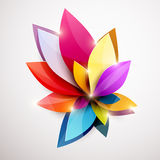Floral abstract background. Vector illustration Royalty Free Stock Images