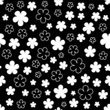 Floral abstract background. Royalty Free Stock Photography