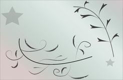 Floral Abstract background wallpaper Stock Photography