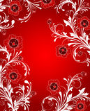 Floral abstract backgrounds. Stock Photos