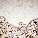 Floral Abstract Curve Stock Photography