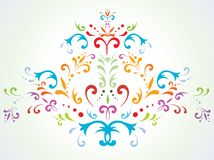 Free Floral Abstract Decoration Royalty Free Stock Image - 12578176
