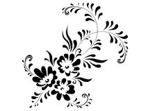 Floral abstract decoration Royalty Free Stock Photos
