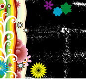 Floral abstract design Royalty Free Stock Photography