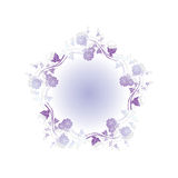 Floral abstract design element Royalty Free Stock Photos