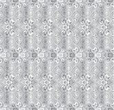 Floral abstract lacy seamless pattern Royalty Free Stock Image