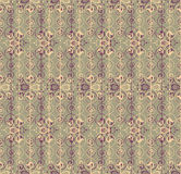 Floral abstract lacy seamless pattern Royalty Free Stock Photos