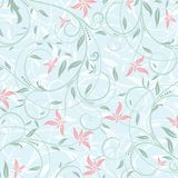 Floral abstract pattern Royalty Free Stock Images