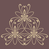 Floral  Abstract Pattern Stock Images