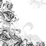 Black and white pattern Stock Photo