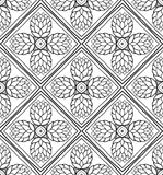 Floral abstract pattern. Stock Photo