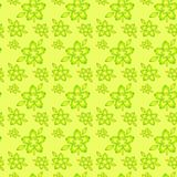 Floral abstract pattern. Seamless regular pattern with floral design Stock Photography