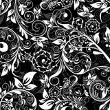 Floral abstract pattern, vector Royalty Free Stock Photos