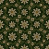 Floral abstract seamless pattern Royalty Free Stock Photo