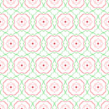 Floral abstract seamless pattern. Royalty Free Stock Images