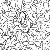 Floral abstract seamless pattern for your design Royalty Free Stock Photography