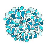 Floral abstract seamless pattern for your design Royalty Free Stock Photo